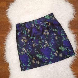 2/$40 NWOT Zara Floral Mini Skirt
